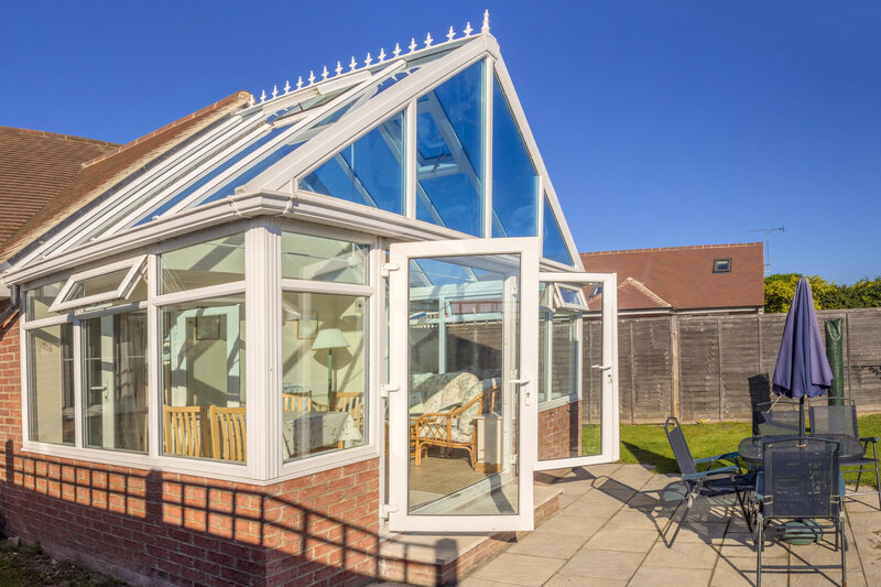 Glass Conservatory in UK United Kingdom